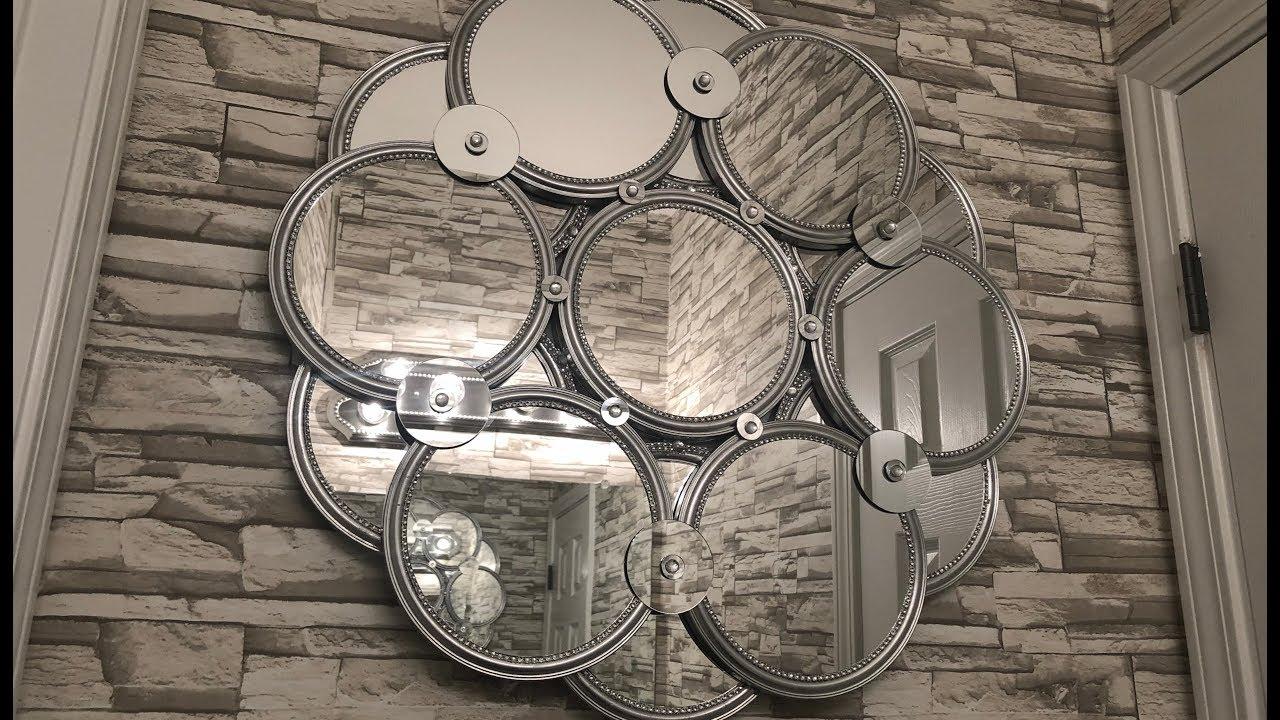 Dollar Tree Diy Huge 28 Decorative Wall Mirror Youtube
