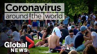 Coronavirus around the world: May 24, 2020