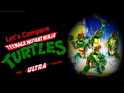 Let's Compare  ( Teenage Mutant Ninja Turtles )  The ULTRA version