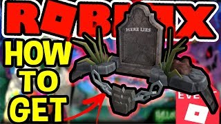 [EVENT] HOW TO GET THE HERE LIES HAT IN HALLOWEEN 2018 | Roblox