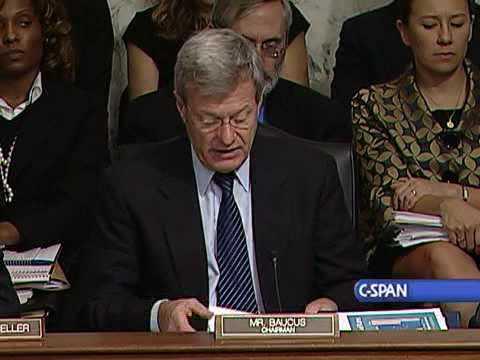 Senate Finance Cmte. Mark Up of Health Care Legislation