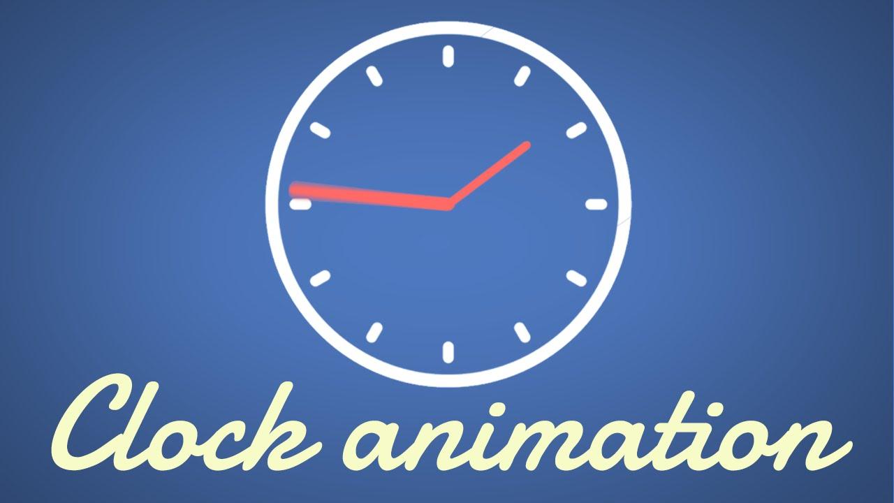 Simple Clock Animation