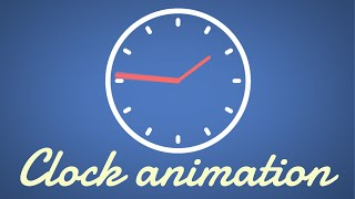 Einfache Uhr Animation | Easy After Effects Tutorial