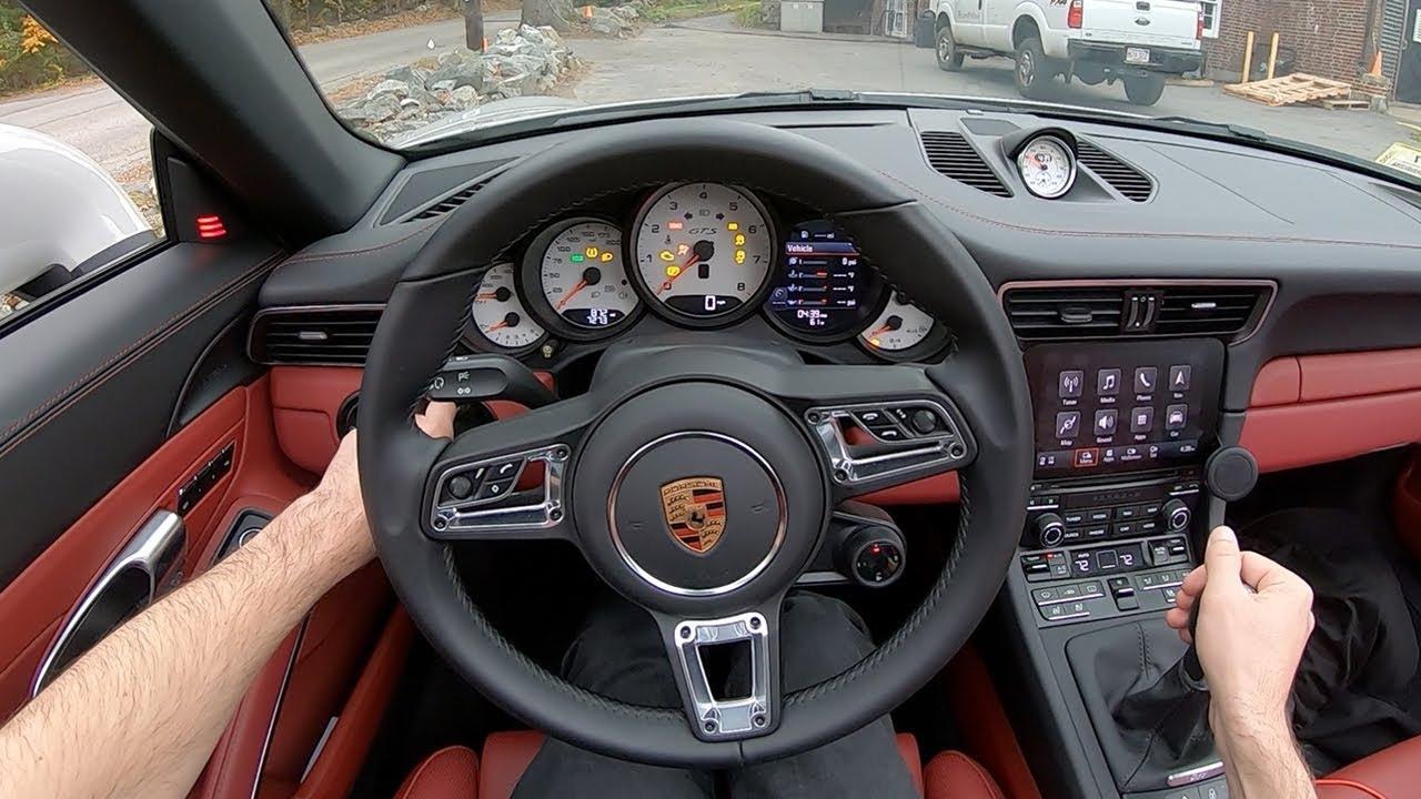2019 Porsche 911 Targa 4 Gts Manual Pov Test Drive By Tedward Binaural Audio Youtube