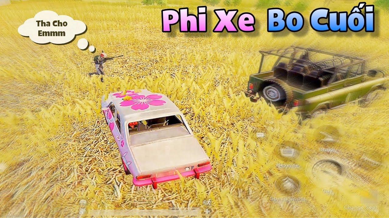 PUBG Mobile   Cách sử dụng Xe Solo Squad trong bo cuối Hiệu Quả vớt 20 Kill Top 1