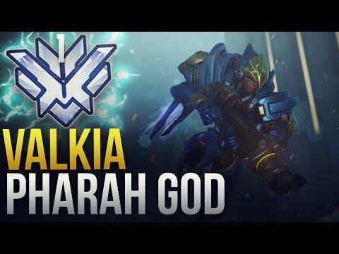 Valkia - RANK 1 WORLD PHARAH GOD - Overwatch Montage