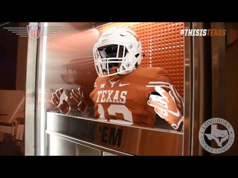 University of Texas at Austin New Football Lockers