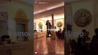 بالفيديو.. رونالدو يظهر موهبة جديدة قبل أول مشاركة مع يوفنتوس