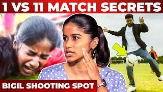 Football Deleted Scenes, Vijay's On Spot Dance, Injuries On Set – Aadhirai Interview