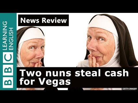 Two nuns steal