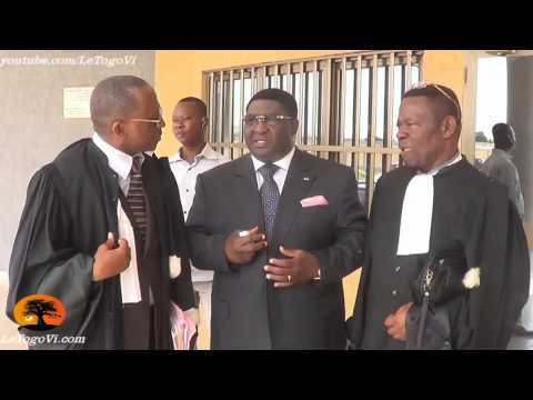 Pascal BODJONA et ses conseils étaient à la cour d'Appel de Lomé [8/1/2014]