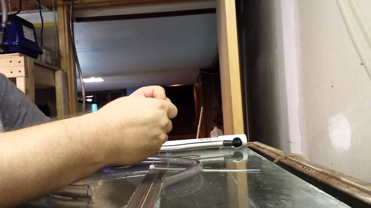 Gravity Drain For Drip System Youtube