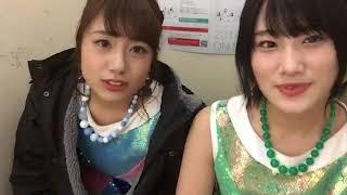 井尻晏菜 沖田彩華 森田彩花.