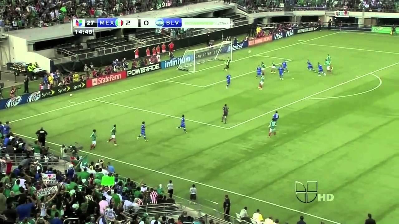 Mexico Vs El Salvador 5 0 2011 Concacaf Gold Cup Youtube
