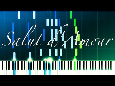 Salut d'Amour // ELGAR [Piano + Violin] (Synthesia)