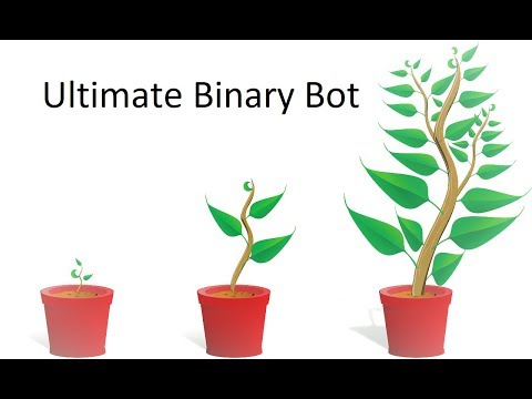 Ultimate Binary Bot - 25 $ in 1.5 hours