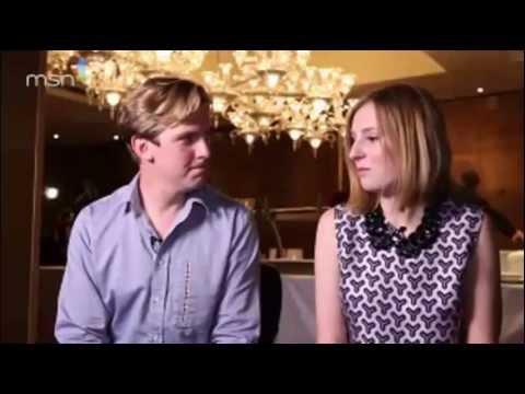 Dan Stevens and Laura Carmicheal interview