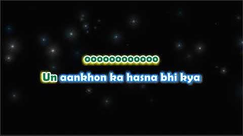 zindagi ki na toote ladi  kranti  karaoke with lyrics