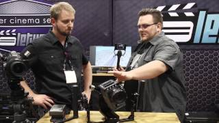 NAB 2014: Letus Helix 3-axis Stabilizer & Anamorphic Lens Adapters