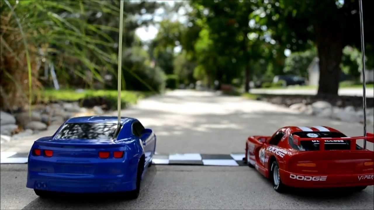 The Greatest R/C Car Race Ever