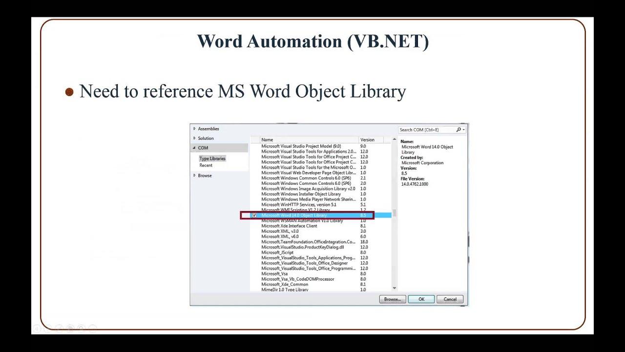 Hasil gambar untuk automation with vb