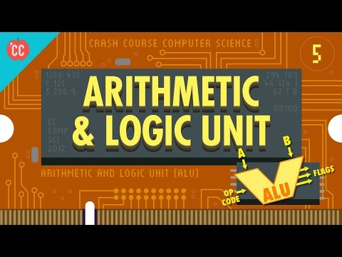How Computers Calculate - the ALU: Crash Course Computer Sci