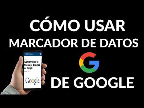 Cómo Utilizar el Marcador de Datos Estructurados de Google