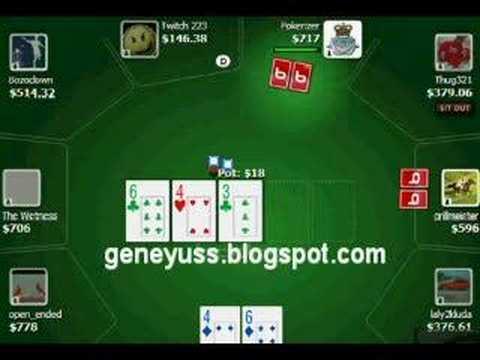 David Williams Instructional Video - Playing $3-$6 No Limit