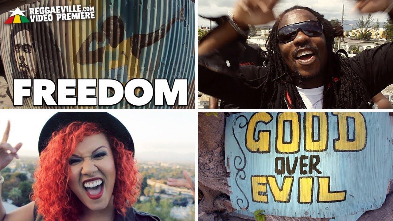 Honey Larochelle feat. Chuck Fenda - Freedom [Official Video 2017]