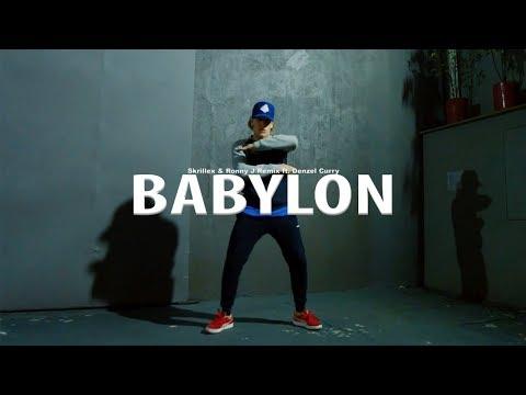 BABYLON - Skrillex & Ronny J Remix ft. Denzel Curry | Coreografia Tiago Montalti