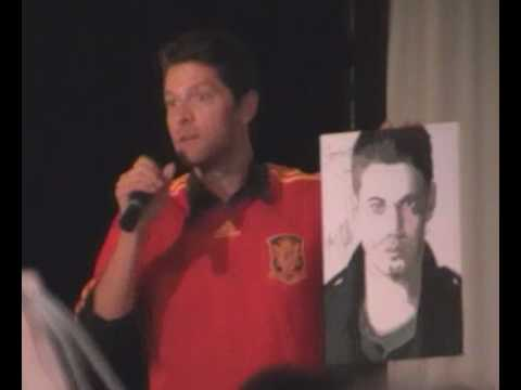 Misha Collins auction Jensen picture to Lourde Rising Con Barcelona 2010.mpg