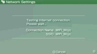 How to connect PSP to WiFi