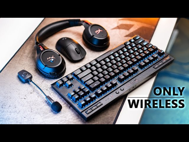 Building The ULTIMATE Wireless Gaming Setup