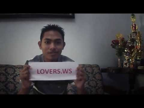 Indonesian man share his experience with lovers dating website in his language .. www.lovers.ws