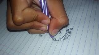 Cara Gambar Kepala Joker