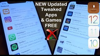 NEW UPDATE Install Tweaked Apps & Games FREE iOS 12 - 12.2 / 11 NO Computer iPhone iPad iPod