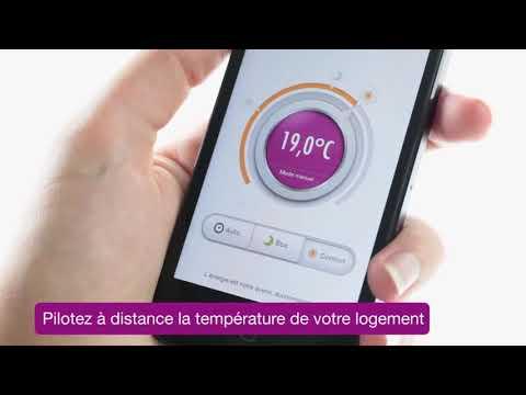 Thermostat connecte dolcevita GDF Suez