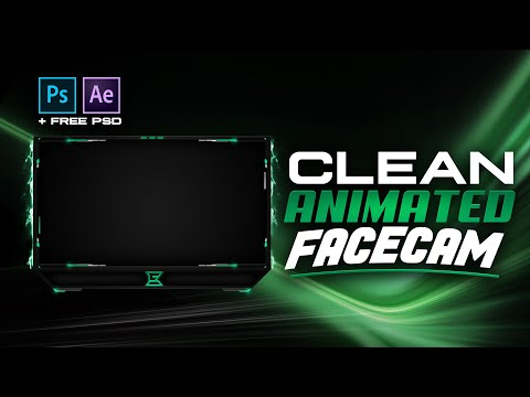 PS/AE: Animated Facecam Overlay Tutorial (FREE TEMPLATE) - Tutorial By EdwardDZN