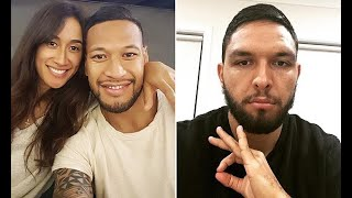 Folau's teammate declares support for the devout Christian as he faces backlash on 'anti-gay' stance