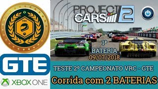 1ª BATERIA - 2º Campeonato VRC 2018 - GTE