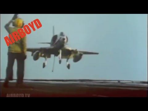 Hook Down, Wheels Down - The Story Of The United States Navy