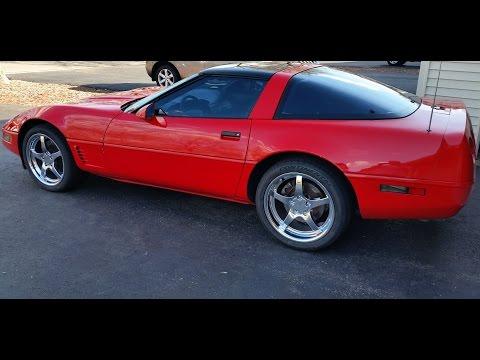 1995 C4 Corvette with C5 Replica Wheels