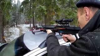 Собираем и пристреливаем тактичеcкий арбалет МК 400