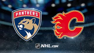 Panthers top Flames in Luongo