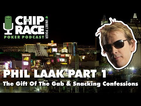 PHIL LAAK INTERVIEW (Part 1) - The Gift Of The Gab & Snacking Confessions