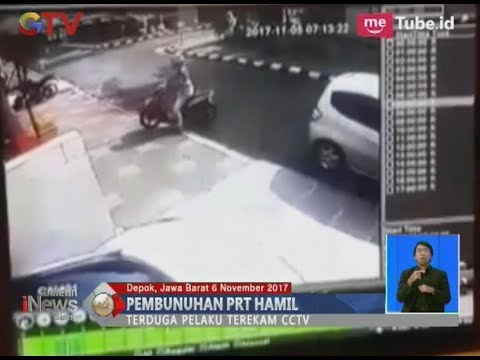 Warga Depok Digegerkan Pembunuhan PRT Hamil yang Terekam CCTV - BIS 07/11