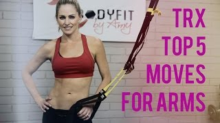 top 5 trx exercises for arms helps you tone arms and supercharge your arm workout