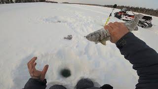 Рыбалка в феврале..