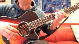 easy way to play john martyn's don't want to know