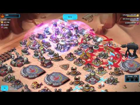 Star Wars Commander-Rebels-Defense Tips-Level 6, 7, 8 Base Layout Which Really Works
